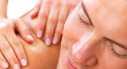 Men massage small
